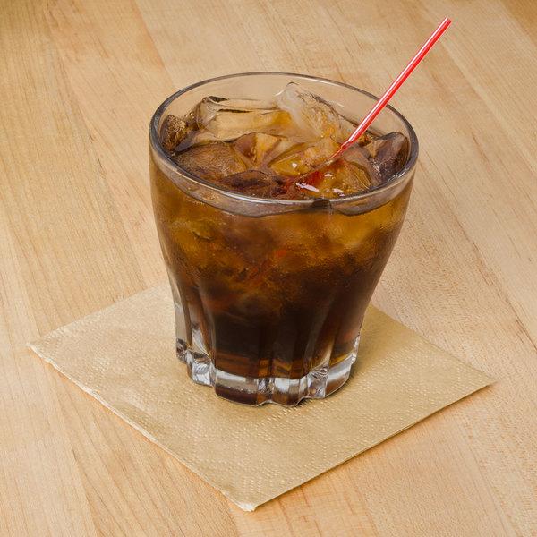 Hoffmaster 180343 Beige Beverage / Cocktail Napkin - 1000/Case Main Image 4