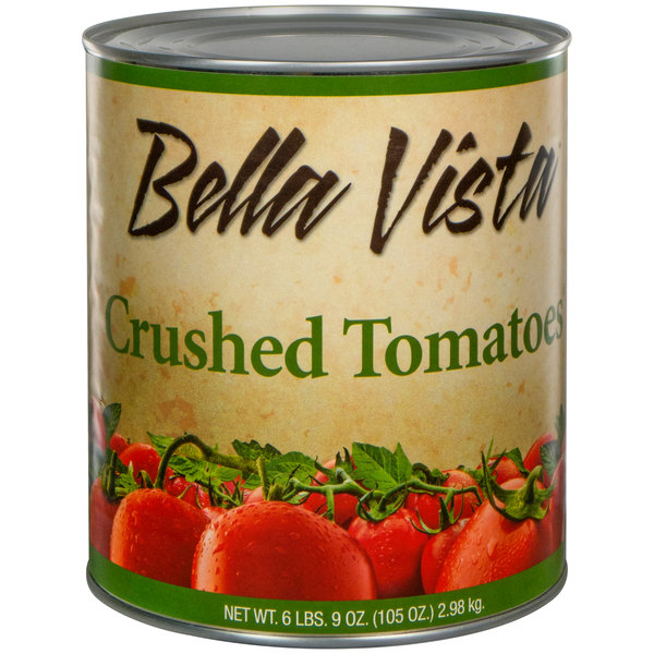 Bella Vista #10 Can Bella Vista Crushed Tomatoes
