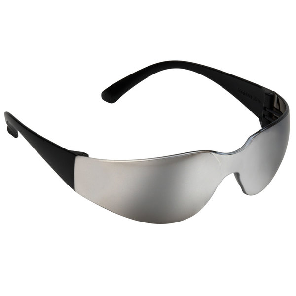 Scratch Resistant Safety Glasses   Eye Protection - Black with Silver ... 1d1f739497a