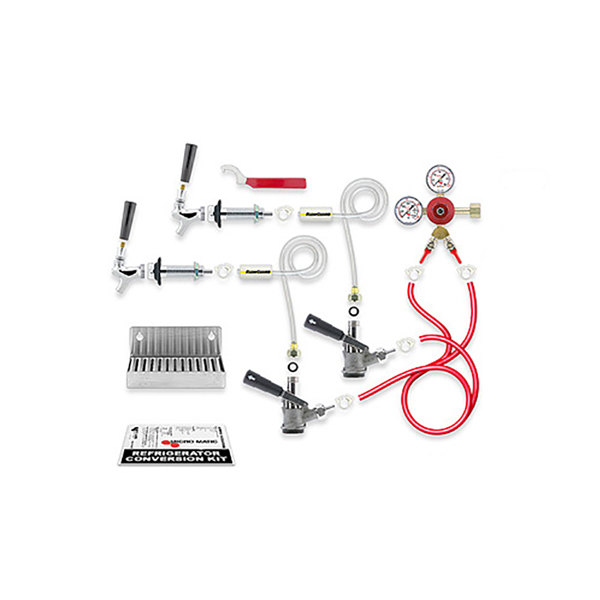 Micro Matic RCK-LC-S-2 Dual Keg Kegerator Door Mount Conversion Kit