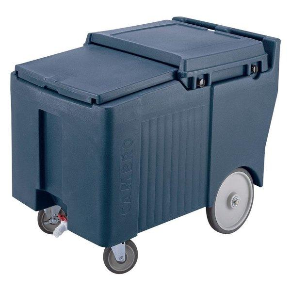 Cambro ICS175LB401 SlidingLid™ Slate Blue Portable Ice Bin - 175 lb. Capacity