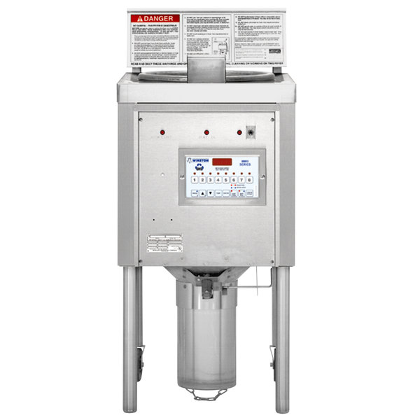 Winston Industries OF59C Collectramatic 75 lb. Electric Open Fryer - 240V, 1 Phase