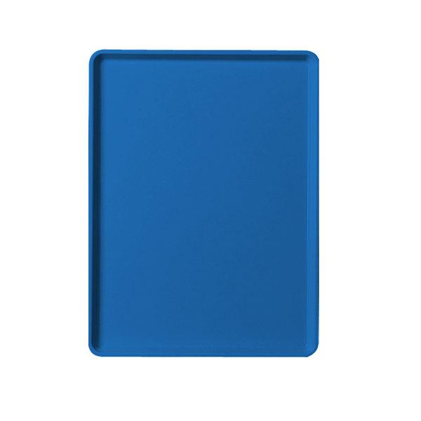 "Cambro 1220D123 12"" x 20"" Amazon Blue Dietary Tray - 12/Case"