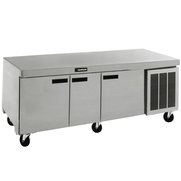 "Delfield 18691BUCM 91"" Undercounter Refrigerator - 24.4 Cu. Ft."