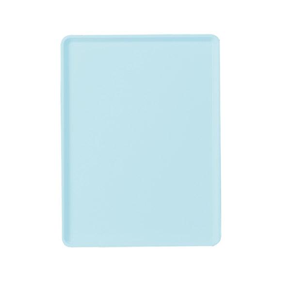 """Cambro 1220D177 12"""" x 20"""" Sky Blue Dietary Tray - 12/Case"""