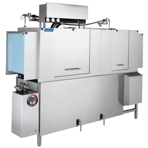 Jackson AJX-80 Vision Conveyor Low Temperature Dishwasher - Left to Right, 230V, 3 Phase