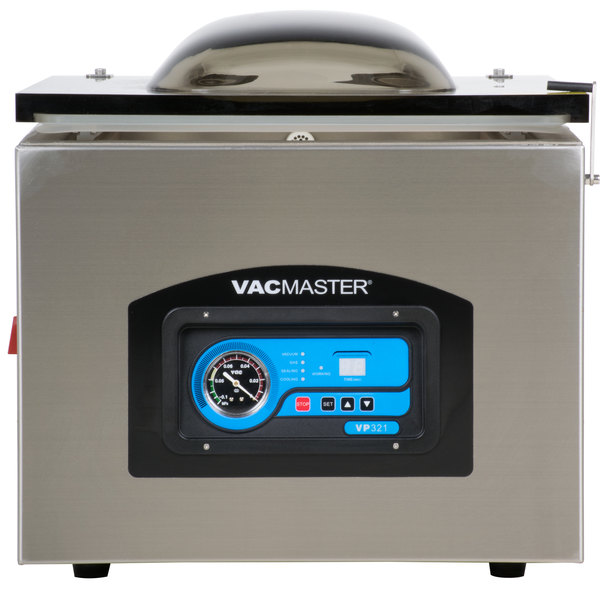 """ARY VacMaster VP321 Chamber Vacuum Packaging Machine with Two 17 1/4"""" Seal Bars"""