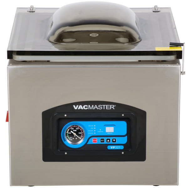 "ARY VacMaster VP321 Chamber Vacuum Packaging Machine with Two 17"" Seal Bars Main Image 1"
