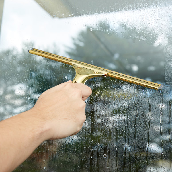 """Unger GC300 12"""" Brass Channel for Golden Clip and Golden Pro Squeegees"""