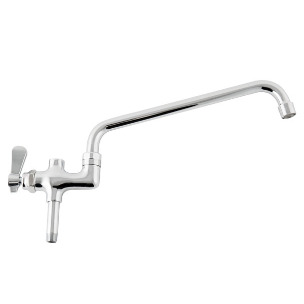 """Regency 12"""" Pre-Rinse Swing Spout Add On Faucet"""