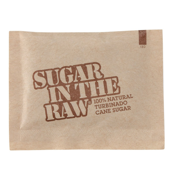 Sugar In The Raw 5 Gram Packets - 1200/Case