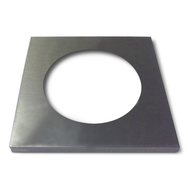 """APW Wyott 55707 Adapter Plate with 8 1/2"""" Opening"""