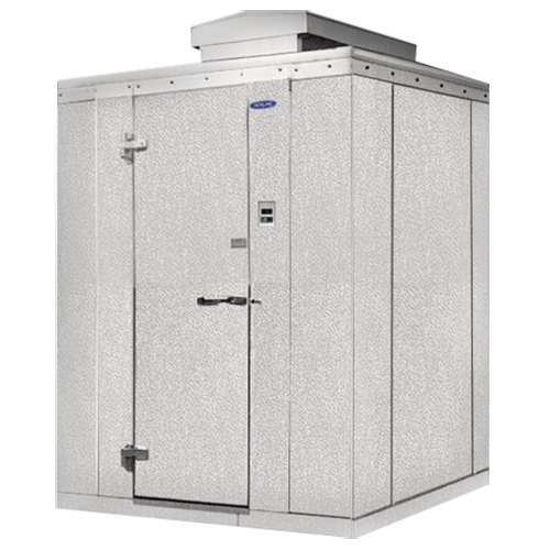 "Lft. Hinged Door Nor-Lake KODB1010-C Kold Locker 10' x 10' x 6' 7"" Outdoor Walk-In Cooler"