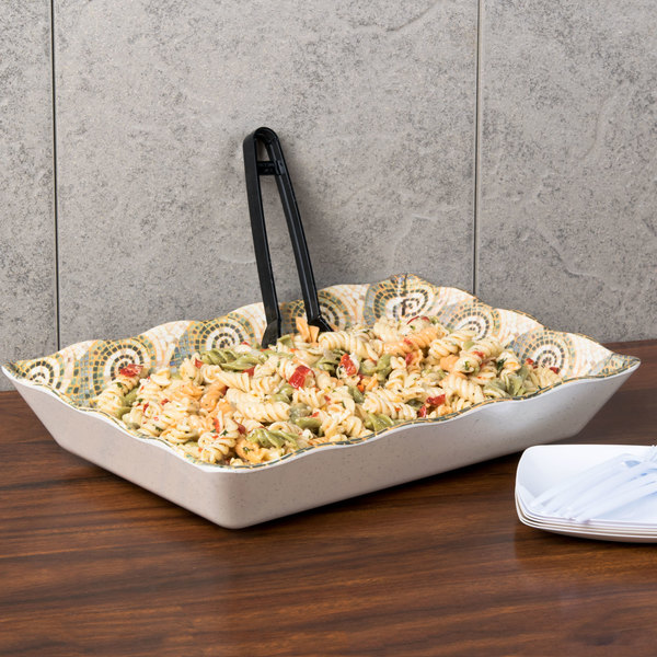 GET ML-88-MO Mosaic Tray - 6/Case