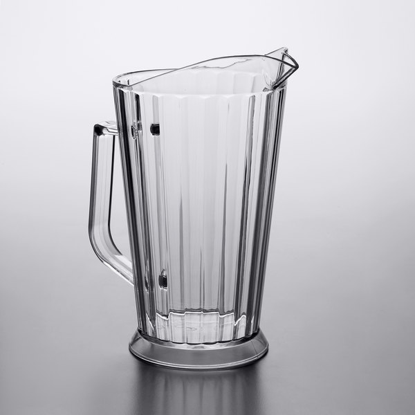 Beer Pitcher   Choice 60 oz. Polycarbonate Plastic Beer ...