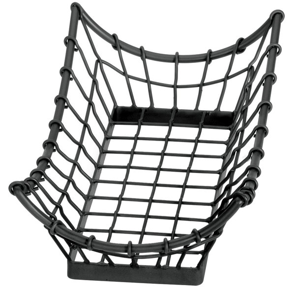 "Tablecraft GM1608 Grand Master Rectangular Metal Basket - 15"" x 8"" x 4 1/4"""