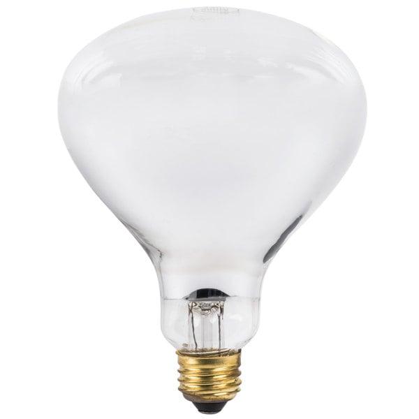 Lavex Janitorial 250 Watt Infrared Heat Lamp Light Bulb Main Image 1