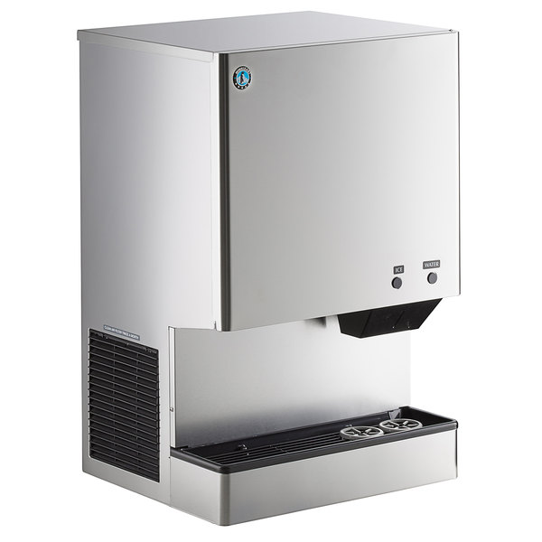 Hoshizaki DCM-500BAH Countertop Ice Maker and Water Dispenser - 40 lb. Storage Air Cooled Main Image 1