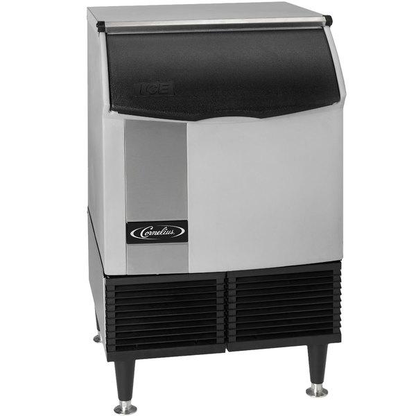 Cornelius CCU0150AH1 Nordic Series 24 inch Air Cooled Undercounter Half Size Cube Ice Machine - 175 lb.