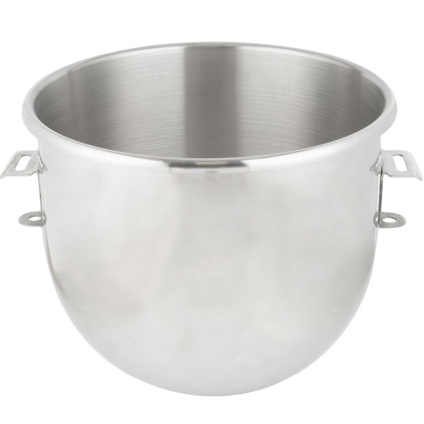 Hobart Equivalent Classic 20 Qt. Stainless Steel Mixing Bowl