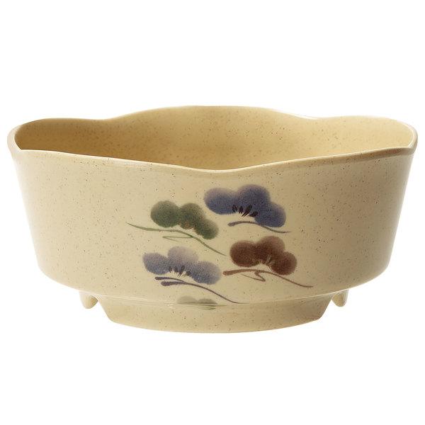 GET 0163-TK Tokyo 16 oz. Melamine Bowl - 12/Case