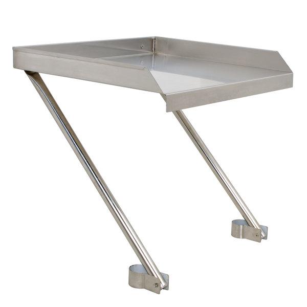 "Regency 21"" x 24"" 18-Gauge Stainless Steel Detachable Drainboard Main Image 1"