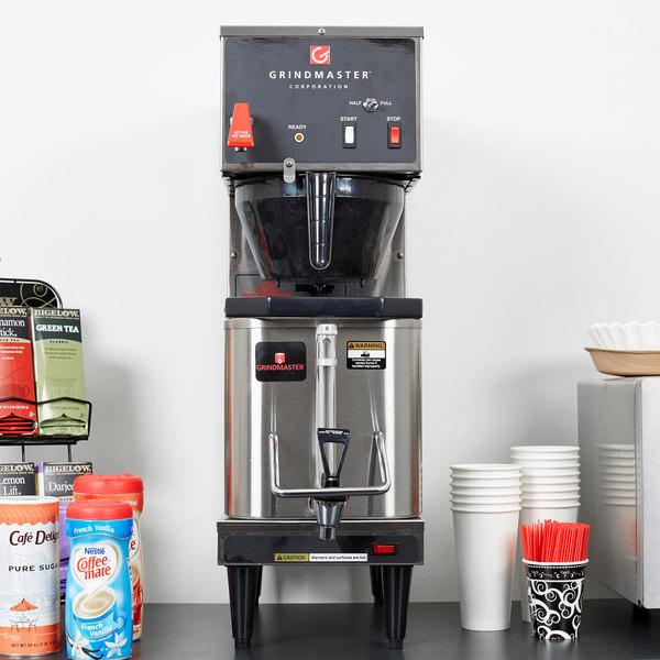 Grindmaster P200E 1.5 Gallon Single Shuttle Coffee Brewer - 120V