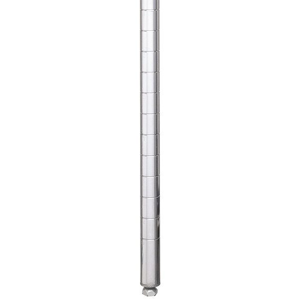 """Metro Super Erecta 74P-STKD Chrome Truck Dolly Staked Post 74"""""""