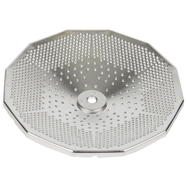 "Tellier X3015 1/16"" Perforated Replacement Sieve for Food Mill #3 - Stainless Steel Main Image 1"