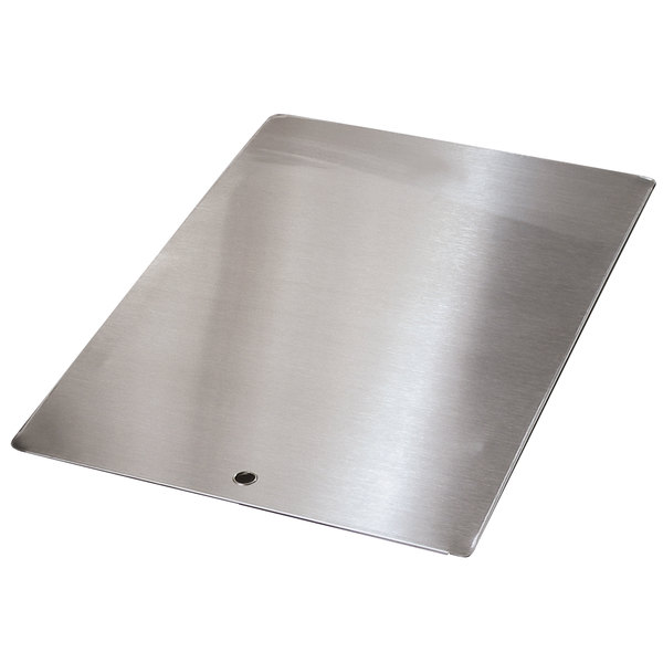 "Advance Tabco K-455C Stainless Steel Sink Cover for 16"" x 20"" Compartments"