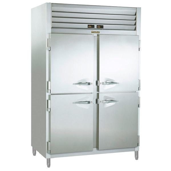 Traulsen ADT232DUT-HHS 38 Cu. Ft. Two Section Half Door Reach In Refrigerator / Freezer - Specification Line