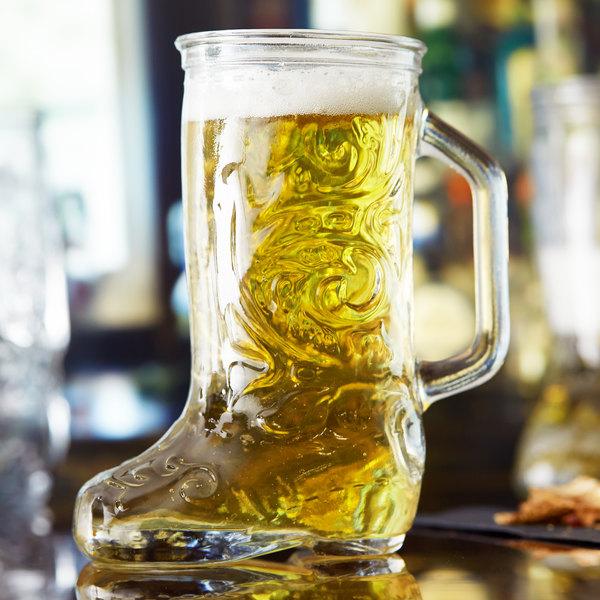 Anchor Hocking 162U 12.5 oz. Boot Beer Mug - 24/Case Main Image 2