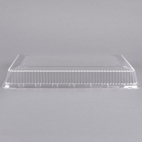 1/2 Sheet Cake Plastic Dome Cover - 25/Pack Main Image 1
