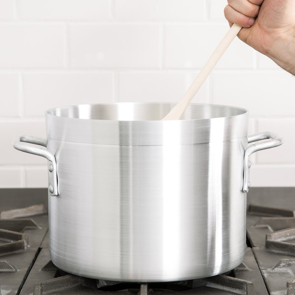 10 Qt. Standard Weight Aluminum Stock Pot