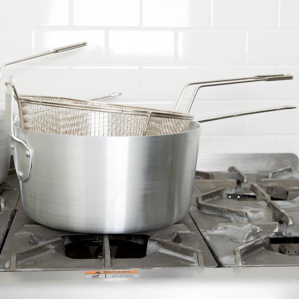 10 Qt. Aluminum Fryer Pot