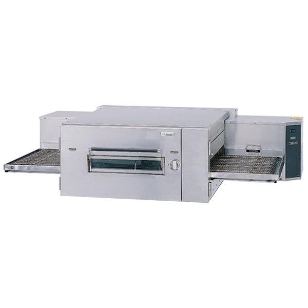 Lincoln 1600-000-U Impinger 1600 Series Natural Gas Single Belt Low Profile Conveyor Oven - 110,000 BTU