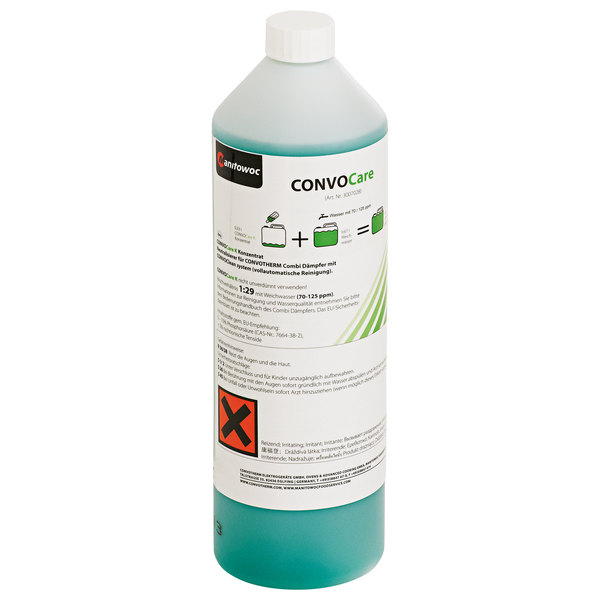 Convotherm CCAREC CONCENTRATE ConvoCare 1 Qt. Rinsing Solution Concentrate - 2/Case