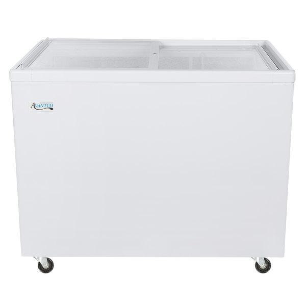 Avantco ICFF11 Flat Lid Display Freezer