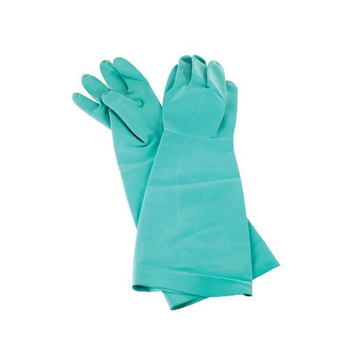 """San Jamar 19NU-L 19"""" Nitrile Large Pot and Sink Gloves"""