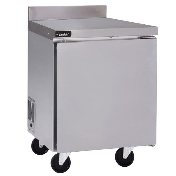 """Delfield GUF32BP-S 32"""" Single Door Worktop Freezer"""