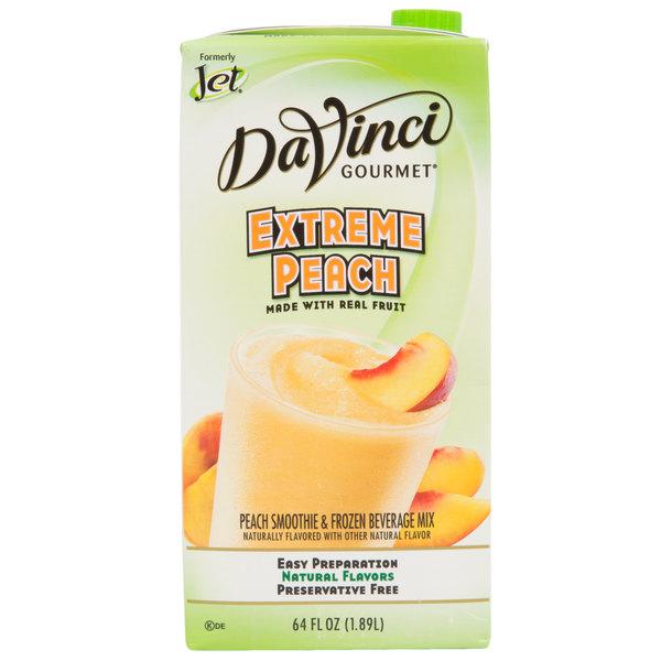DaVinci Gourmet 64 oz  Extreme Peach Real Fruit Smoothie Mix