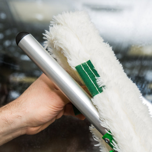 "Unger SV450 18"" SwivelStrip T-Bar Window Washer Handle with Adjustable Head Main Image 8"