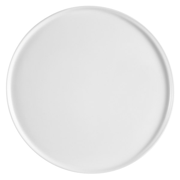 "CAC PP-1 White China Coupe Style Pizza Plate 14"" - 12/Case Main Image 1"