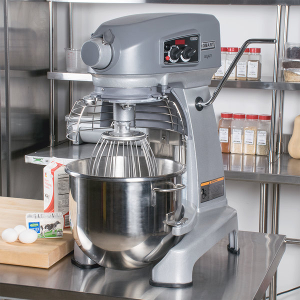 Hobart Legacy HL200 20 Qt. Planetary Stand Mixer with Guard & Standard Accessories - 120V, 1/2 hp Main Image 8