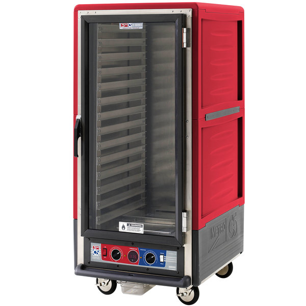 Metro C537-CFC-L C5 3 Series Heated Holding and Proofing Cabinet - Clear Door Main Image 1