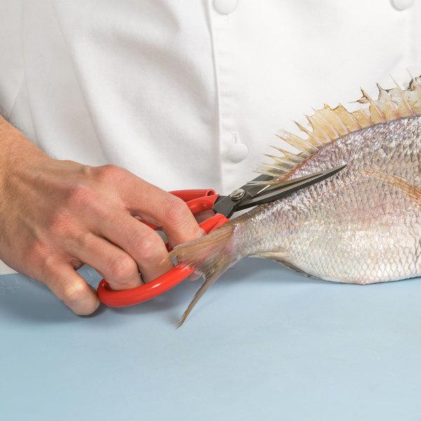 "7 1/2"" Nickel-Plated Steel Fish Shears"