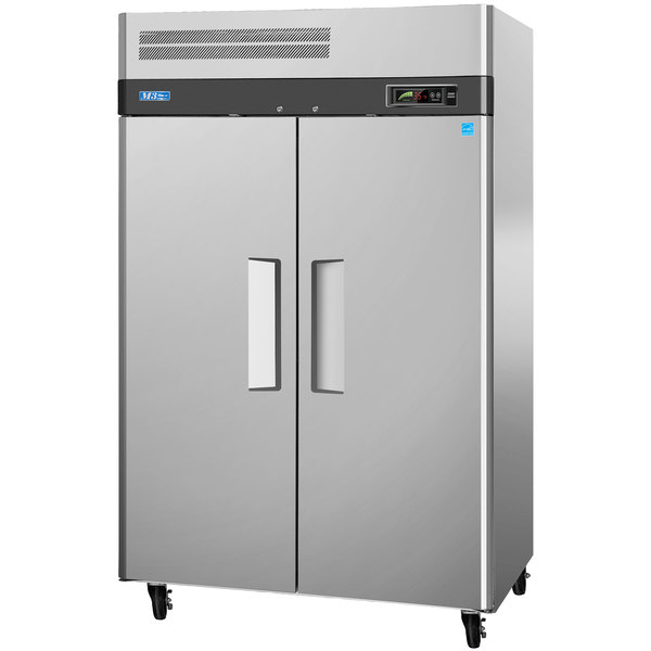 """Turbo Air M3F47-2 52"""" M3 Series Two Section Solid Door Reach in Freezer - 47 cu. ft."""