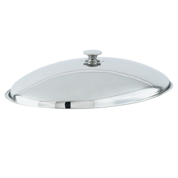 Vollrath 46532 Stainless Steel 6 Qt. Orion Chafer Cover