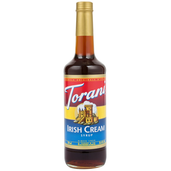 Torani 750 mL Irish Cream Flavoring Syrup Main Image 1