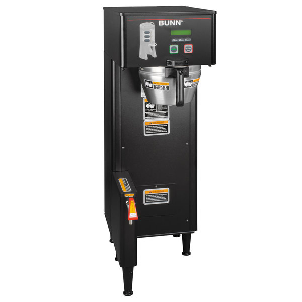 Bunn 34800.0004 BrewWISE Black Single ThermoFresh DBC Brewer - 120/240V Main Image 1